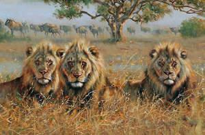 Притча: Три льва