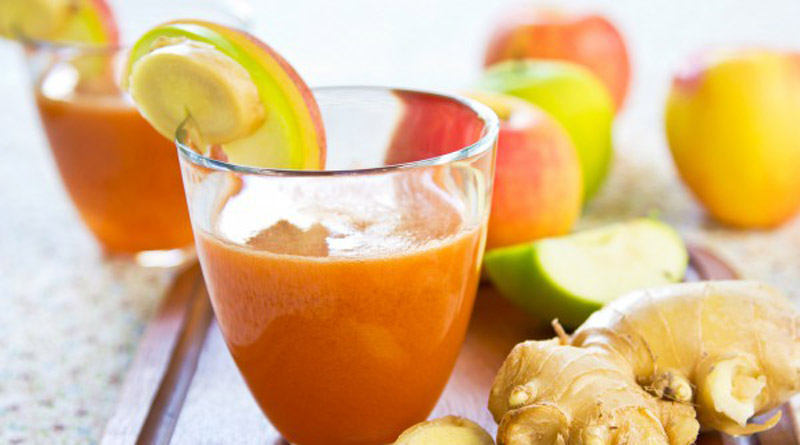 Преимущества морковного сока с имбирем